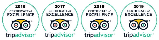 Tripadvisor Certificated Excellence